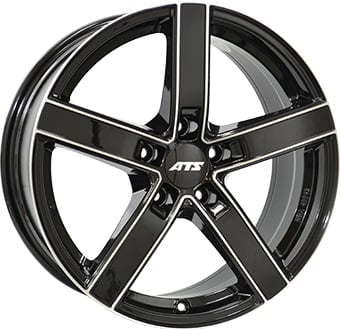 ATS Emotion 7.5x17 5x112 ET45 66.6 Black machined face rim
