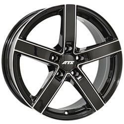 ATS Emotion 7.5x17 5x114.3 ET35 70.1 Black machined face rim